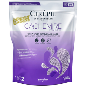 Cirepil Cachemire (Cashmere) Stripless Hard Wax 800 Gram - 1.8 Lb. Bag (276 0563)