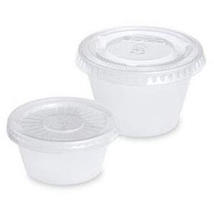 Disposable Mixing Cup and Lid - 1 oz. 50 Count (283 0655)