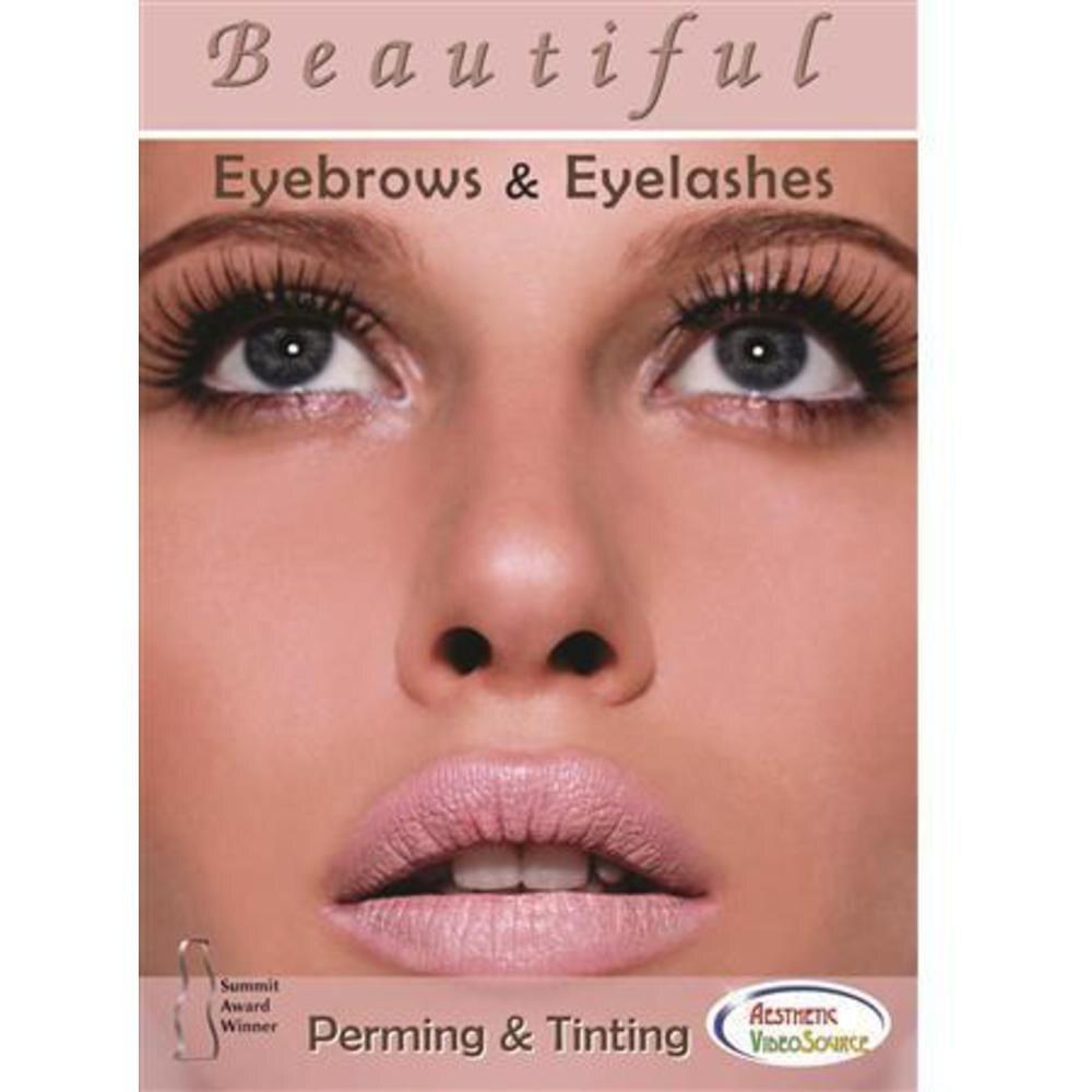 Beautiful Eyebrows Eyelashes Perming Tinting Dvd 539 0304
