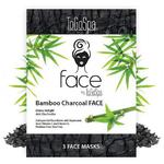 FACE by ToGoSpa™ Collagen Gel Face Masks - Bamboo Charcoal 7 Retailable Packs of 3 = 21 Face Masks (280 0336 01)