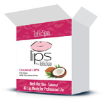LIPS by ToGoSpa™ Collagen Gel Lips Masks - Back Bar Box - Coconut 40 Lip Masks in a Box (280 0333 02)