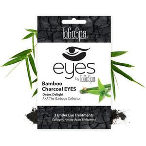 EYES by ToGoSpa™ Under Eye Collagen Gel Masks - Bamboo Charcoal 10 Retailable Packs of 3 Pairs = 30 Eye Mask Pairs (280 0330 01)