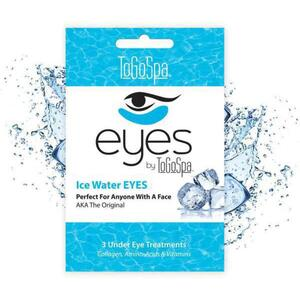 EYES by ToGoSpa™ Under Eye Collagen Gel Masks - Ice Water 10 Retailable Packs of 3 Pairs = 30 Eye Mask Pairs (280 0330 04)