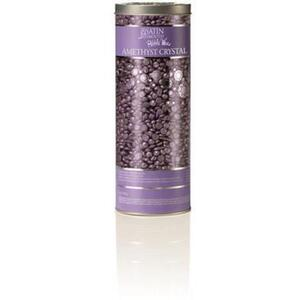 Satin Smooth Luxury Gem Wax Collection Pebble Wax - Amethyst Crystal Stripless Flex Wax 23 oz. (276 0409 02)