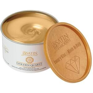 Satin Smooth Luxury Gem Wax Collection - Golden Quartz Soft Wax 14 oz. Can (276 0406)