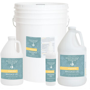 Soothing Touch® Invigorating Massage Gel 64 oz. - 12 Gallon (227 0083 05)