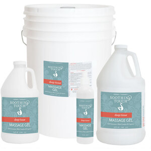 Soothing Touch® Deep Tissue Massage Gel 64 oz. - 12 Gallon (227 0082 05)