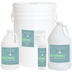 Soothing Touch® Sore Muscle Massage Gel 64 oz. - 12 Gallon (227 0080 05)