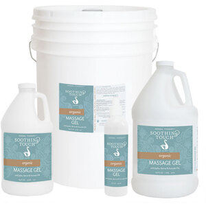Soothing Touch® Organics Massage Gel 64 oz. - 12 Gallon (227 0078 05)