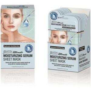 Satin Smooth® Serum Sheet Mask Display Box - MOISTURIZING SERUM SHEET MASKS 24 masks (182 0412 03)