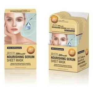 Satin Smooth® Serum Sheet Mask Display Box - NOURISHING SERUM SHEET MASKS 24 masks (182 0412 04)