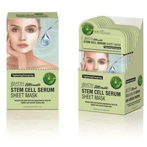 Satin Smooth® Serum Sheet Mask Display Box - STEM CELL SERUM SHEET MASKS 24 masks (182 0412 06)