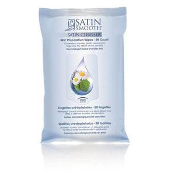 Satin Smooth Pre-Depilatory Skin Preparation Wipes (276 0431)