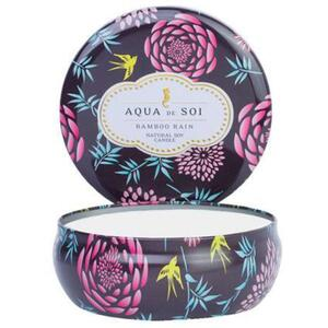 Aqua De Soi Triple Wick Candle in Decorative Tin - BAMBOO RAIN 21 oz. (253 0100 08)