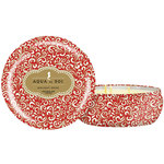 Aqua De Soi Triple Wick Candle in Decorative Tin - HOLIDAY SPICE - Part of the Holiday Collection 21 oz. (253 0103 14)