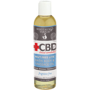 Soothing Touch® CBD Clinical Cannabidiol™ Nut Free Lite Oil 8 oz. (224 0361 01)