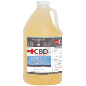 Soothing Touch® CBD Clinical Cannabidiol™ Nut Free Lite Oil 64 oz. - 12 Gallon (224 0361 05)