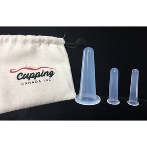 Cupping Therapy - Silicone Facial Massage Cup Set (150 0037)