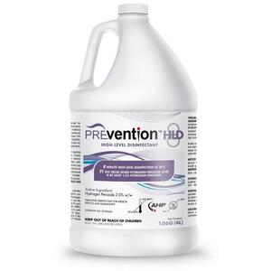 Prevention™ HLD8 High Level Disinfectant 1.06 Gallons - 4 Liters (025 0094)