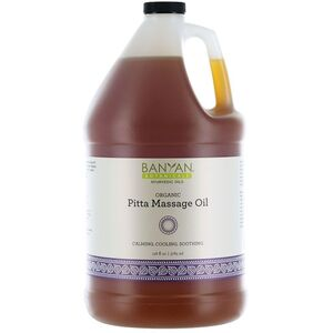 Banyan® Botanicals Pitta Massage Oil - Calming. Cooling. Soothing. 1 Gallon (224 0372 05)
