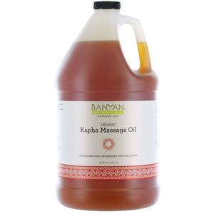 Banyan® Botanicals Kapha Massage Oil - Invigorating. Warming. Revitalizing. 1 Gallon (224 0371 05)