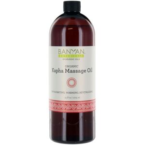 Banyan® Botanicals Kapha Massage Oil - Invigorating. Warming. Revitalizing. 34 oz. (224 0371 09)