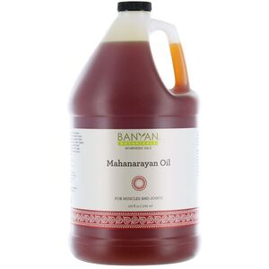Banyan® Botanicals Mahanarayan Oil - For Muscles and Joints 1 Gallon (224 0370 05)