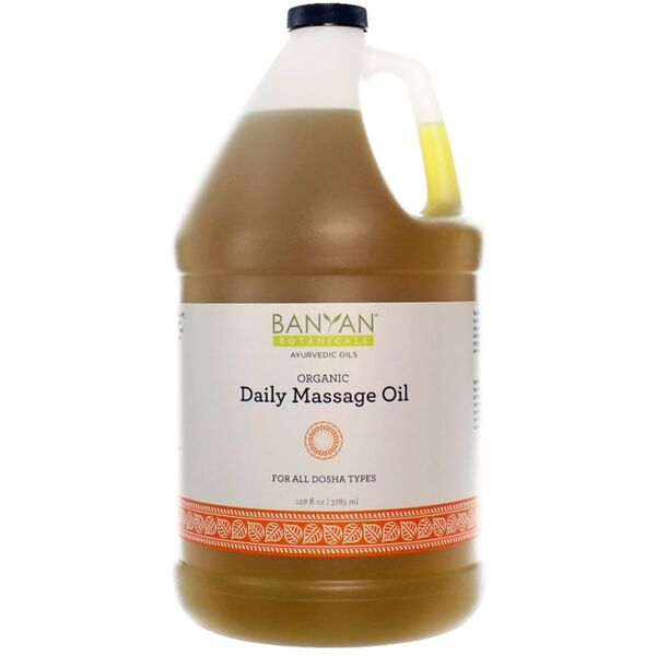 Banyan® Botanicals Daily Massage Oil - For All Body Types 1 Gallon (224 0369 05)