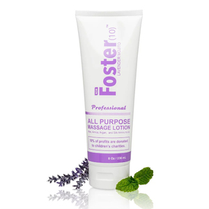 Foster(10)™ Massage Lotion - Lavender Mojito 8 oz. (226 0334 01)