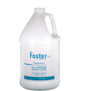 Foster(10)™ All Purpose Massage Cream - Unscented 1 Gallon - 128 oz. (225 0336 03 02)