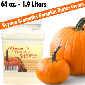 Keyano Aromatics - Pumpkin Spice Butter Cream 64 oz. - 1.9 Liters (225 0185 10)