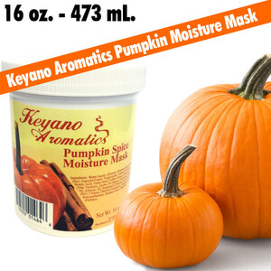 Keyano Aromatics - Pumpkin Spice Moisture Mask 16 oz. - 473 mL. (182 0263 08)