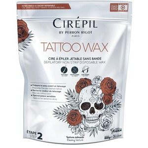 Cirepil Tattoo Wax - Stripless Hard Wax Beads 1.8 Lbs. - 800 Gram Bag (276 0474)