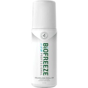 Biofreeze Professional Pain Relieving Roll-On - Topical Analgesic | COLORLESS 3 oz. Roll-On (228 5054 02 02)