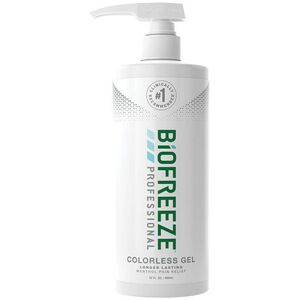 Biofreeze Professional Pain Relieving Gel - Topical Analgesic | COLORLESS 32 oz. Gel Pump (228 5054 06 02)