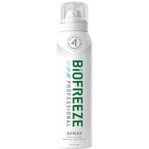 Biofreeze Professional Pain Relieving Gel - Topical Analgesic | COLORLESS 4 oz. Spray Colorless (228 5054 08 02)