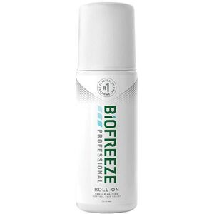Biofreeze Professional Pain Relieving Roll-On - Topical Analgesic | GREEN 3 oz. Roll-On (228 5054 02 01)