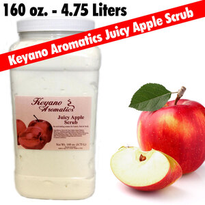 Keyano Aromatics - Juicy Apple Scrub 160 oz. (209 0150 09)