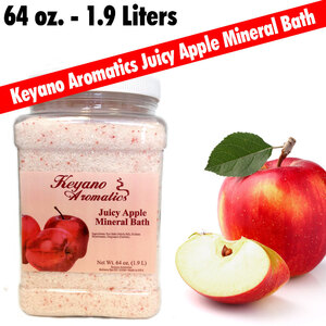 Keyano Aromatics - Juicy Apple Mineral Bath 64 oz. - 12 Gallon (209 0151 07)