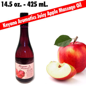 Keyano Aromatics - Juicy Apple Massage Oil 14.5 oz. (224 0395 05)