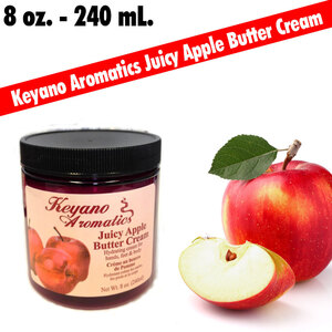 Keyano Aromatics - Juicy Apple Butter Cream 8 oz. (225 0360 02)
