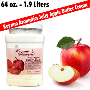 Keyano Aromatics - Juicy Apple Butter Cream 64 oz. - 12 Gallon (225 0360 07)