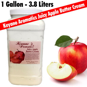 Keyano Aromatics - Juicy Apple Butter Cream 128 oz. - 1 Gallon (225 0360 08)