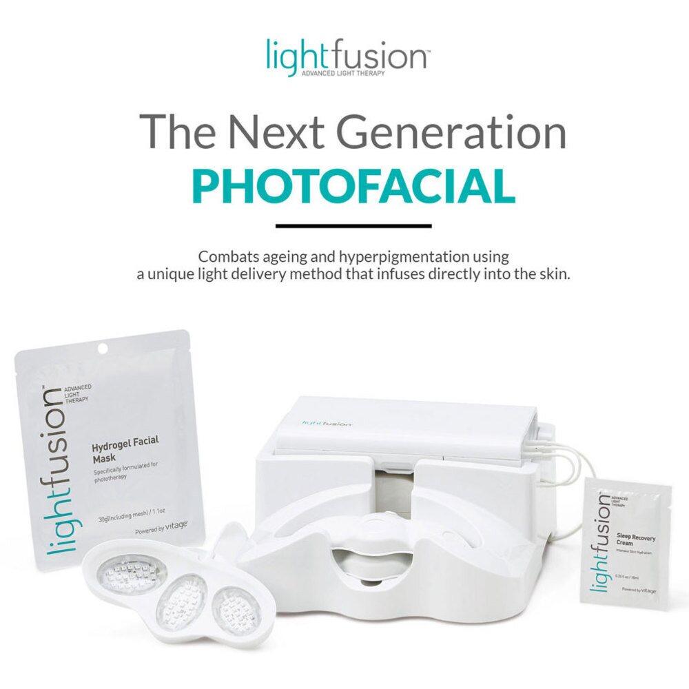 silhouet tone lightfusion advanced led light therapy non invasive