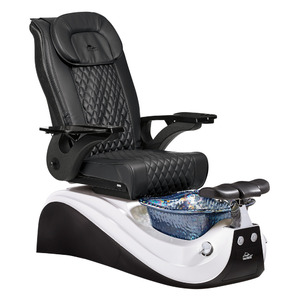 Victoria II Pedicure Chair with Crystal Glass Pedicure Basin ()