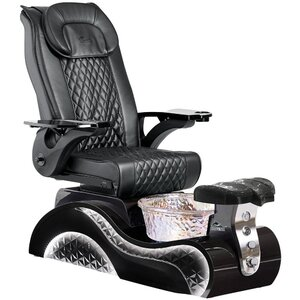 Lucent Pedicure Chair with Crystal Glass Pedicure Basin ()