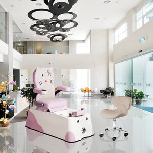 Junior Pedicure Spa Cat Design for Kids ()