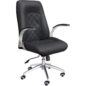 Ergonomic Diamond Rolling Customer Chair Available in Black Chocolate Khaki Gray or White (3209)