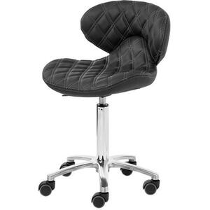 Lexi II Manicure Technician Stool Available in Black Chocolate White Gray as well as 100+ Other Colors! (1009H)