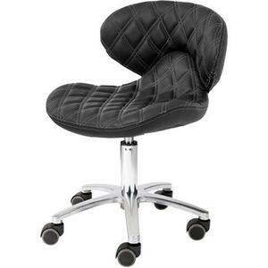 Lexi II Pedicure Technician Stool Available in Black Chocolate White Gray as well as 100+ Other Colors! (1009L)